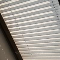 Plisy na okna dachowe Crush pearl 80462 7081. Lokalizacja Zalesie